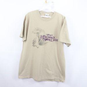 90s Mens Large Hunchback Notre Dame Disney T Shirt